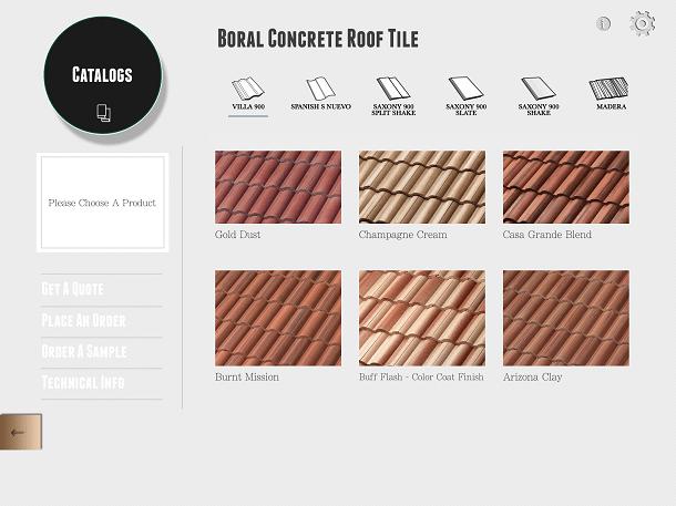 roof tile catalog