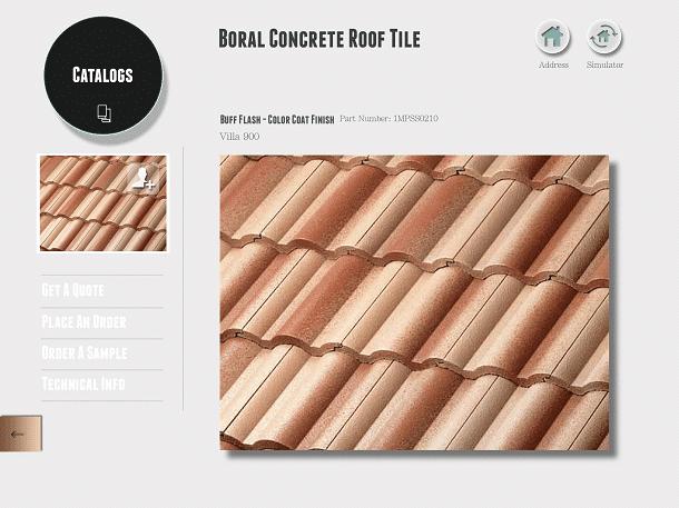 roofing catalog app