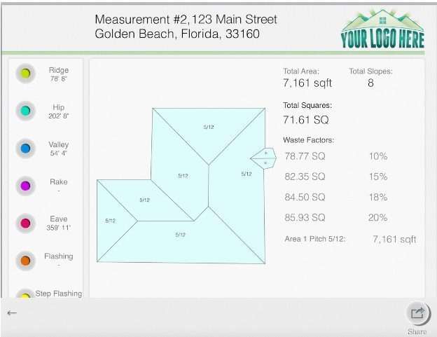 Roof Measurements Unlimited Roofing Measurements Reports