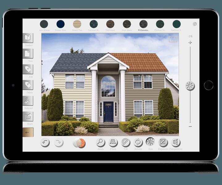 Roof Visualizer iPad