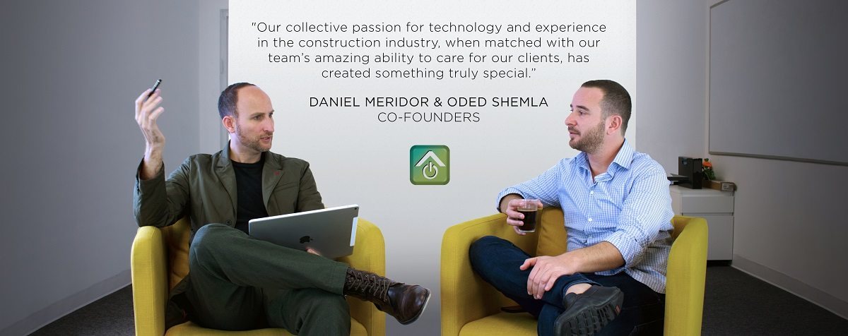 Co Founders of iRoofing app