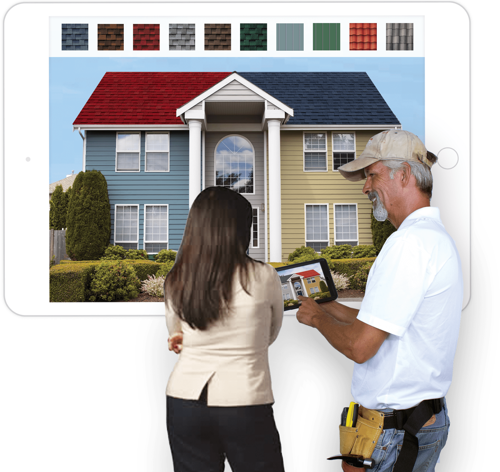 roof visualizer app