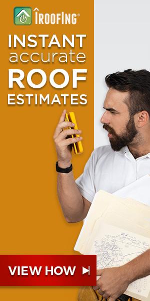 Roof estimate ad