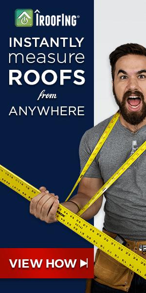 Roof measurements ad