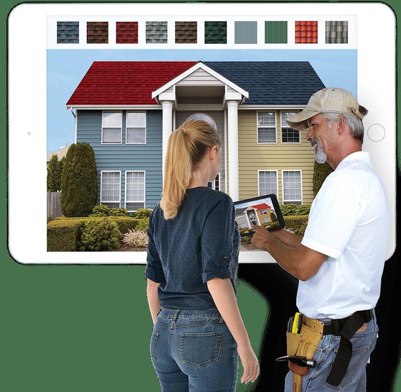 roofing sales tool app