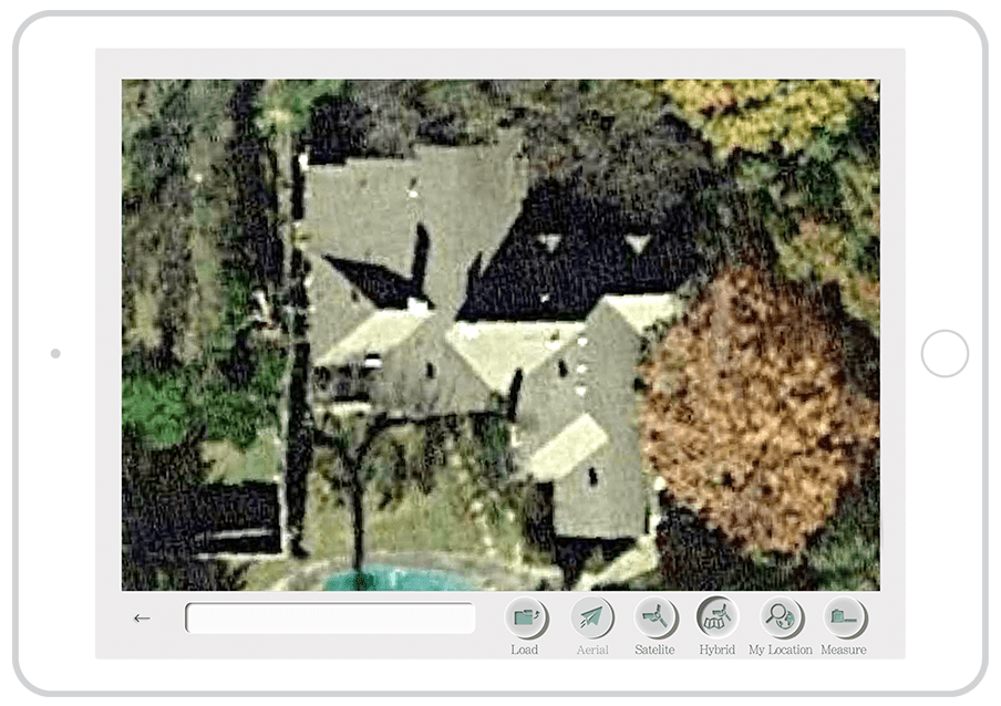 satellite image measurement