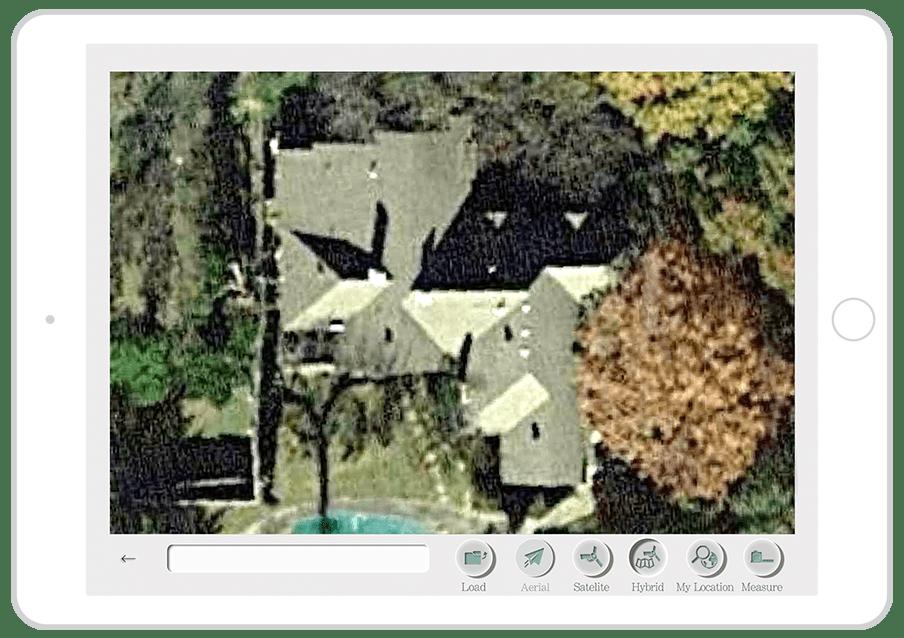 satellite image measurement