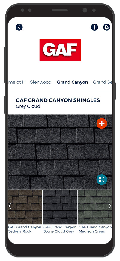 roofing catalog app