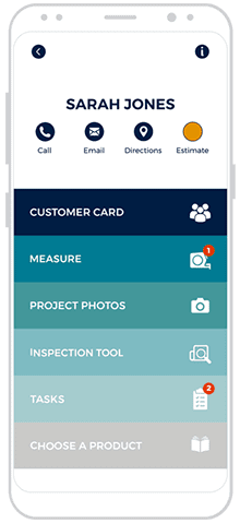 roofing crm app