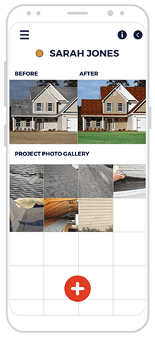 roofing app project gallery