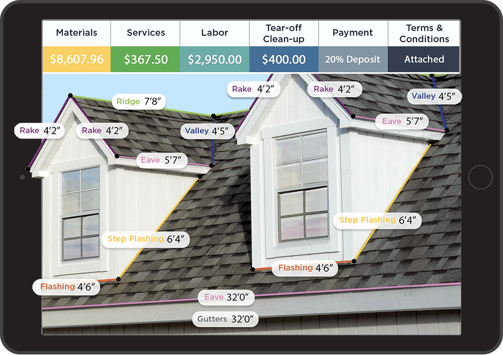 roof estimating software