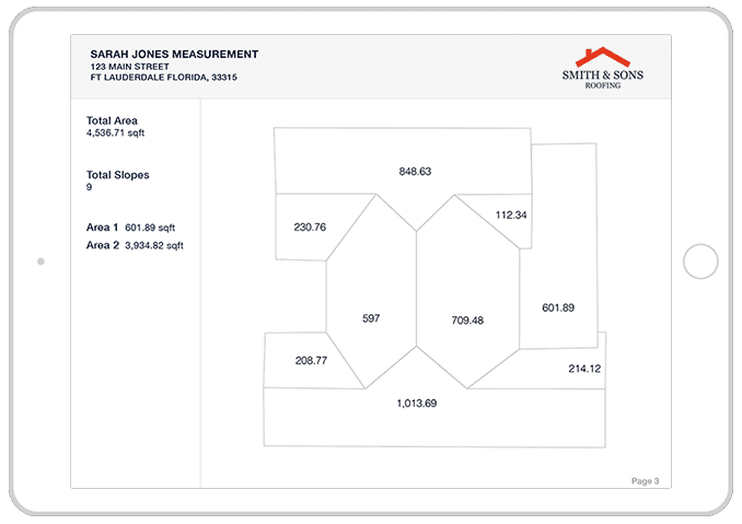 Roof Measurements - Unlimited Roofing Measurements Reports