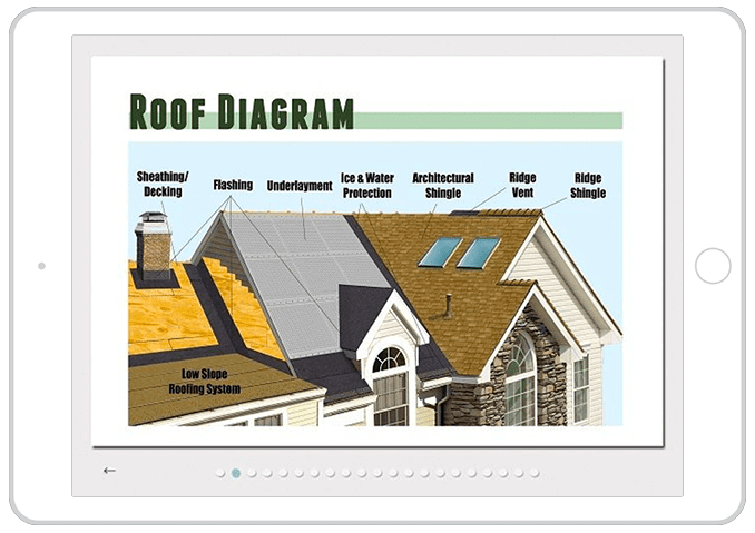 roofing app for sales