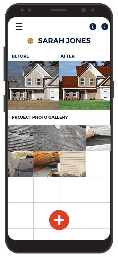 Roofing app for Project