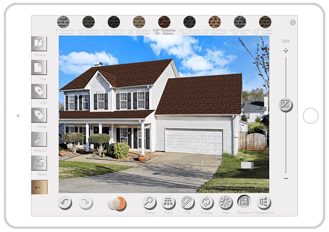 roofing visualizer app