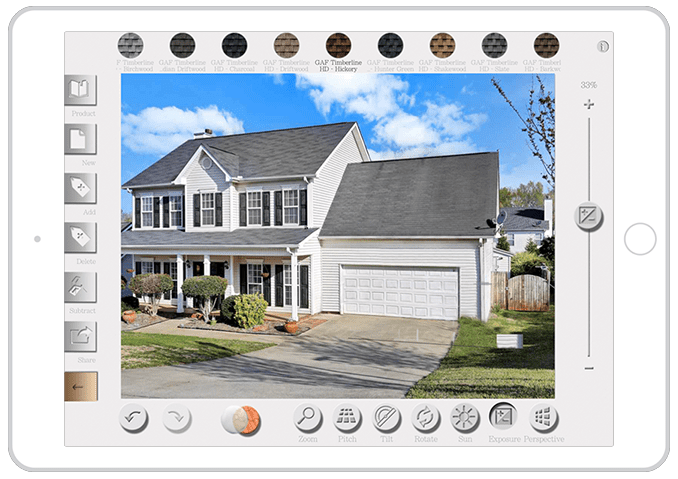 roof visualizer app