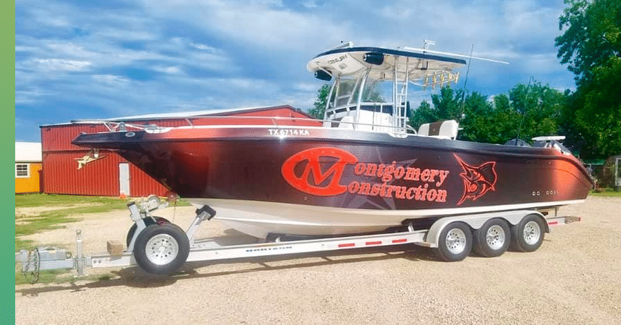 montgomery roofing boat