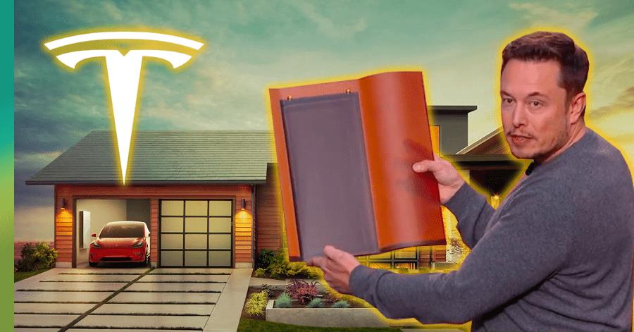 Elon Musk Tesla Roof Shingles