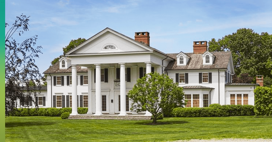southern mansion roof dormers