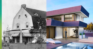 Roof styles over the decades