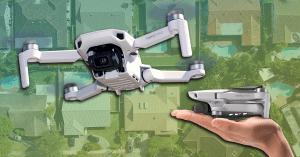 mavic mini roofing drone