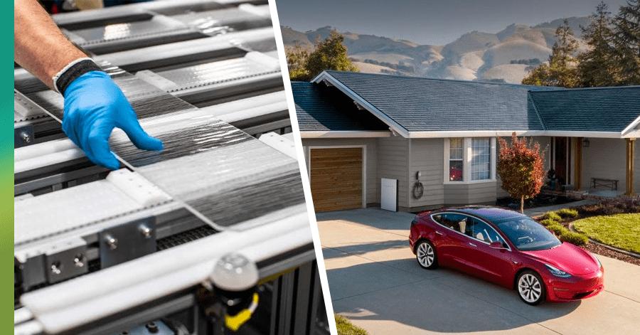 Model home Tesla