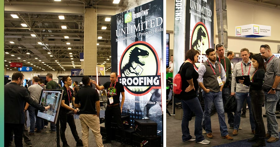 international roofing expo photos