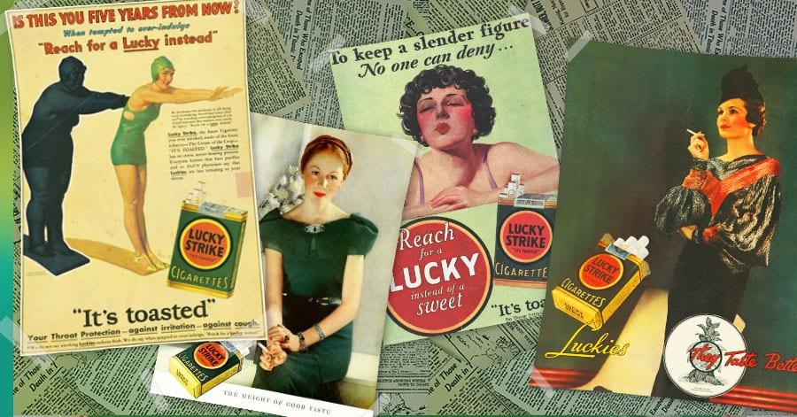 lucky strike ads