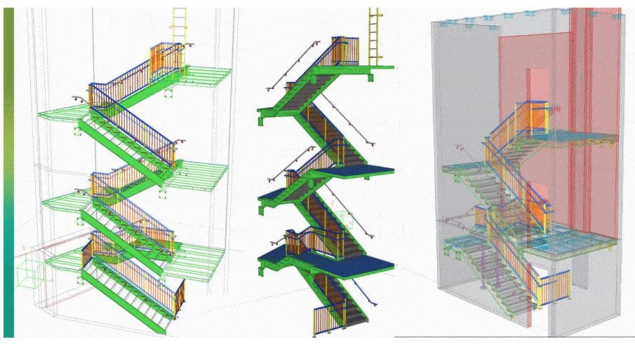 roofing stairs software