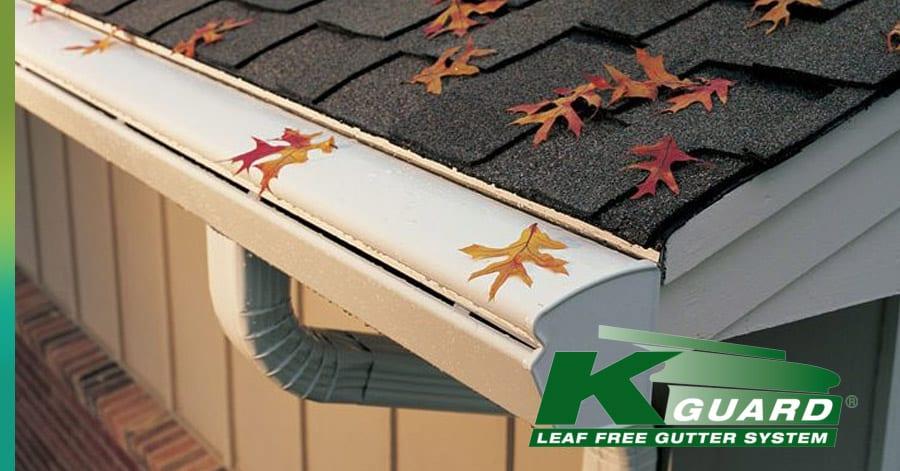 Heated gutters