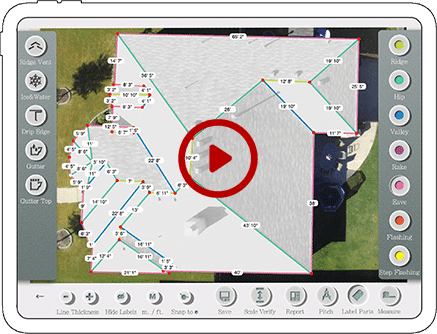 roof measurements video tutorial