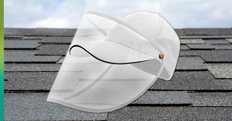 Face mask for roofers
