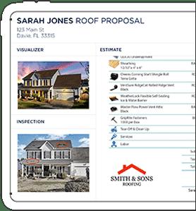estimate roofing app