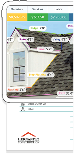 roof measurements software