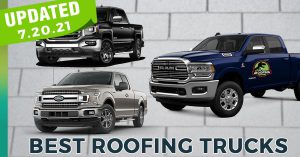Roofing truck