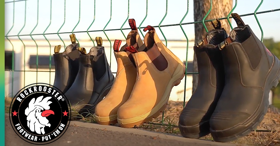 rock rooster roofing boots
