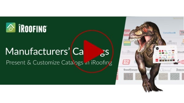 Roofing catalogs app