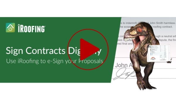 roofing app for contracts