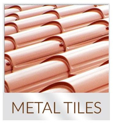 luxury metal roof tiles