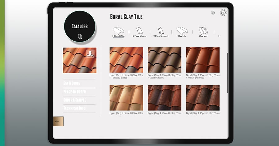 boral clay roof tiles