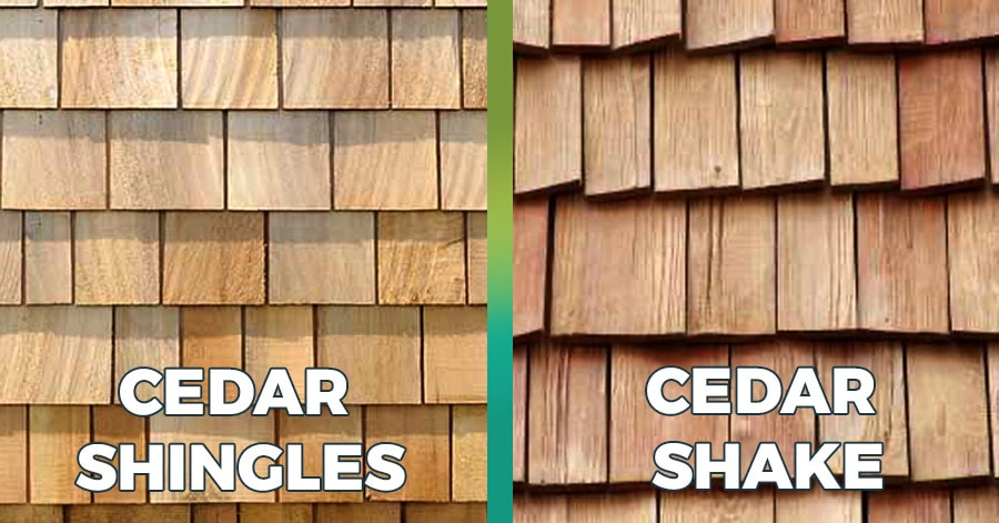 cedar shake vs luxury shingles