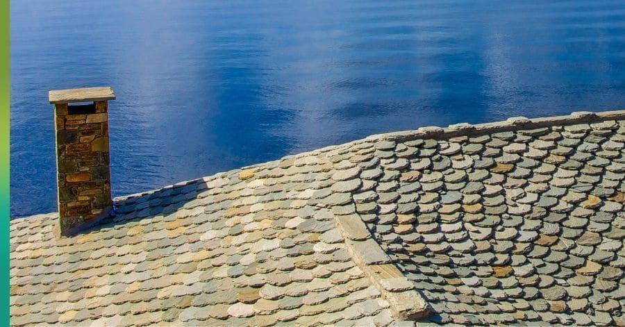 luxury slate tile roof