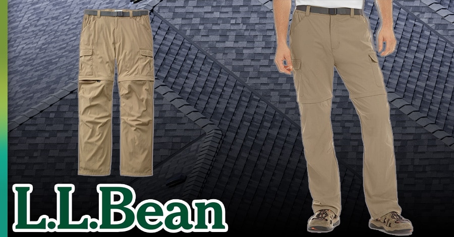 LL Bean work pants