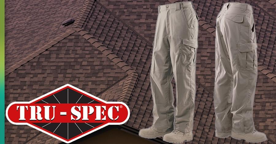 truspec cargo roofing pants