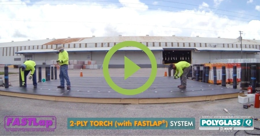 polyglass adeso time trial roofing underlayment