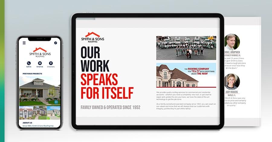 roofing sales app