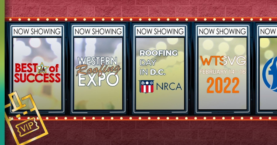 Roofing Construction Conferences this year