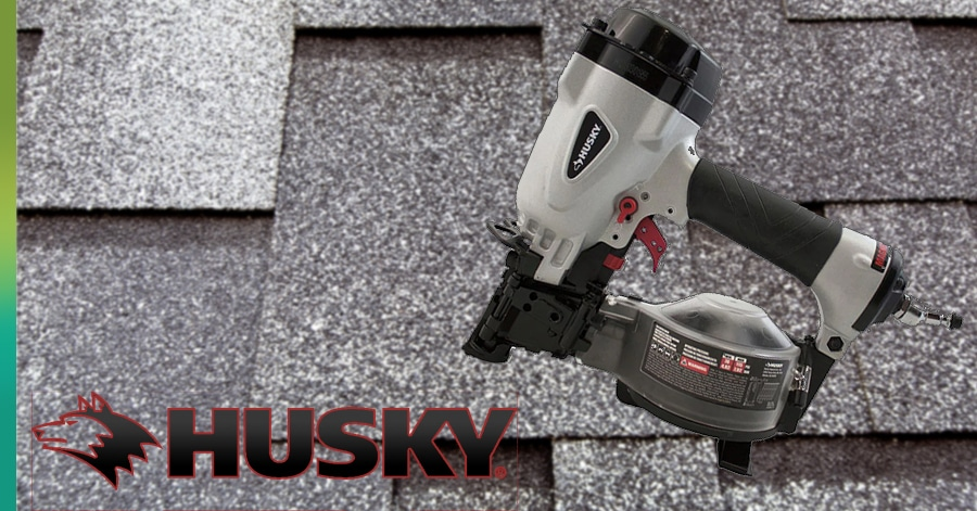 husky roofing nail gun