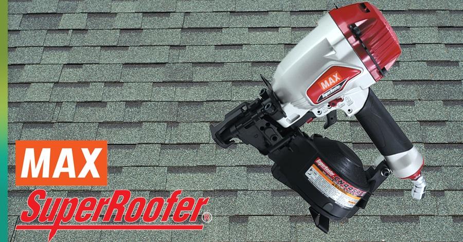 max super roofer nail gun