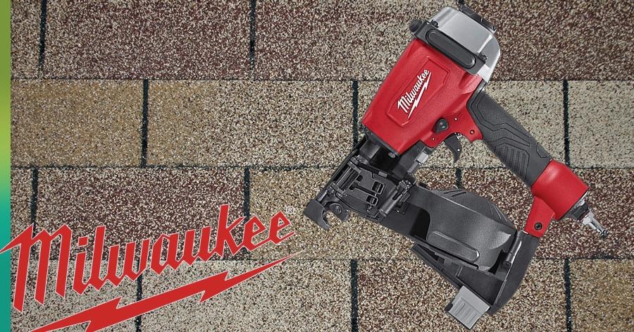 milwaukee nail gun roofing